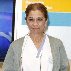 Lolita Flores en su presentación como nuevo personaje de 'Centro Médico'