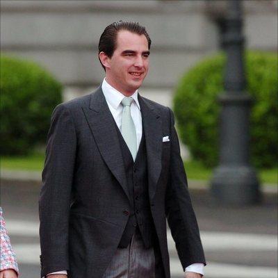 Nicolás de Grecia en la boda de los Reyes Felipe y Letizia