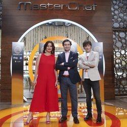 Los miembros del jurado de 'Masterchef 6' presentan la nueva edición del concurso