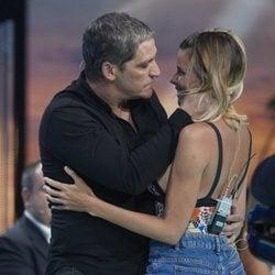María Lapiedra se reencuentra con Gustavo González en la Gala 5 de 'Supervivientes 2018'