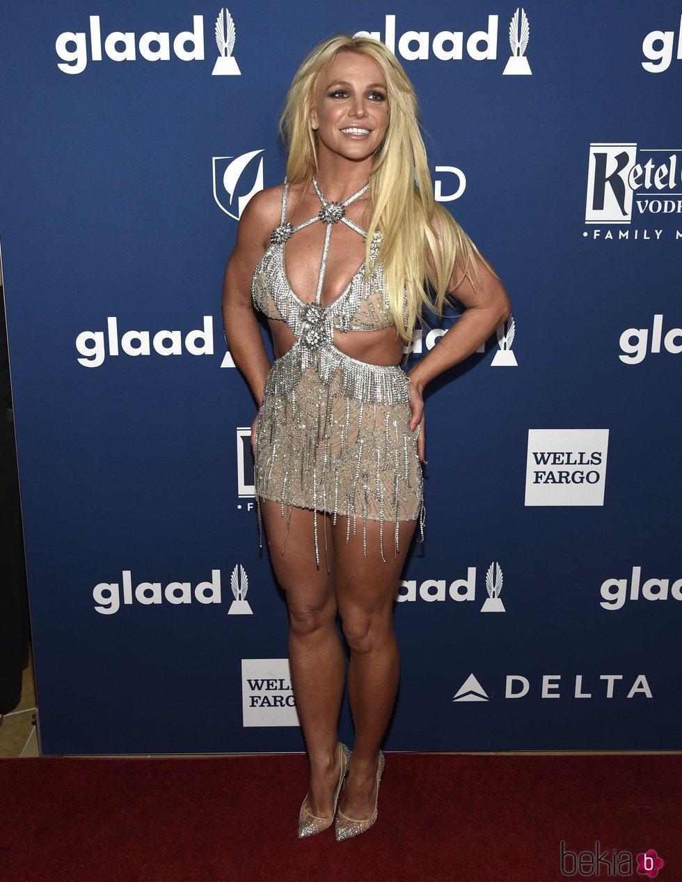 Britney Spears en los GLAAD Awards de 2018