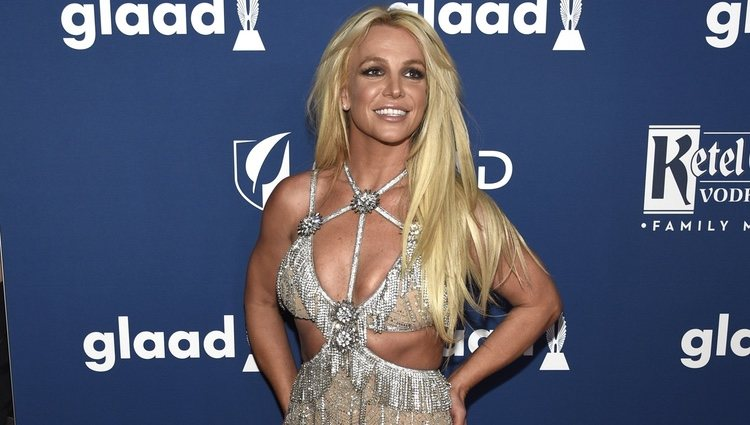Britney Spears en los GLAAD Awards de 2018