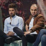 Alejandro Albalá y Christian Suescun en la gala 5 de 'Supervivientes 2018'