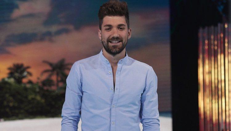 Alejandro Albalá en la gala 5 de 'Supervivientes 2018'
