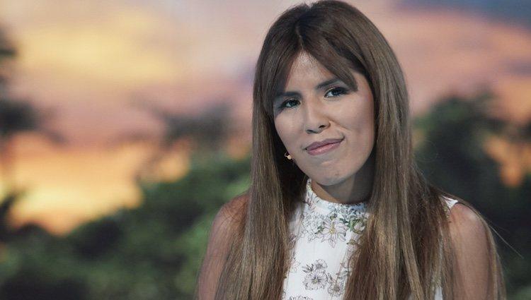 Chabelita Pantoja posa durante la gala 5 de 'Supervivientes 2018'