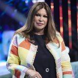 Paca, la mujer de Francisco, durante la gala 5 de 'Supervivientes 2018'