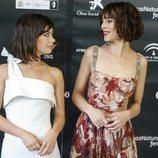 Belén Cuesta y Anna Castillo en la ceremonia de inauguración del Festival de Cine de Málaga 2018