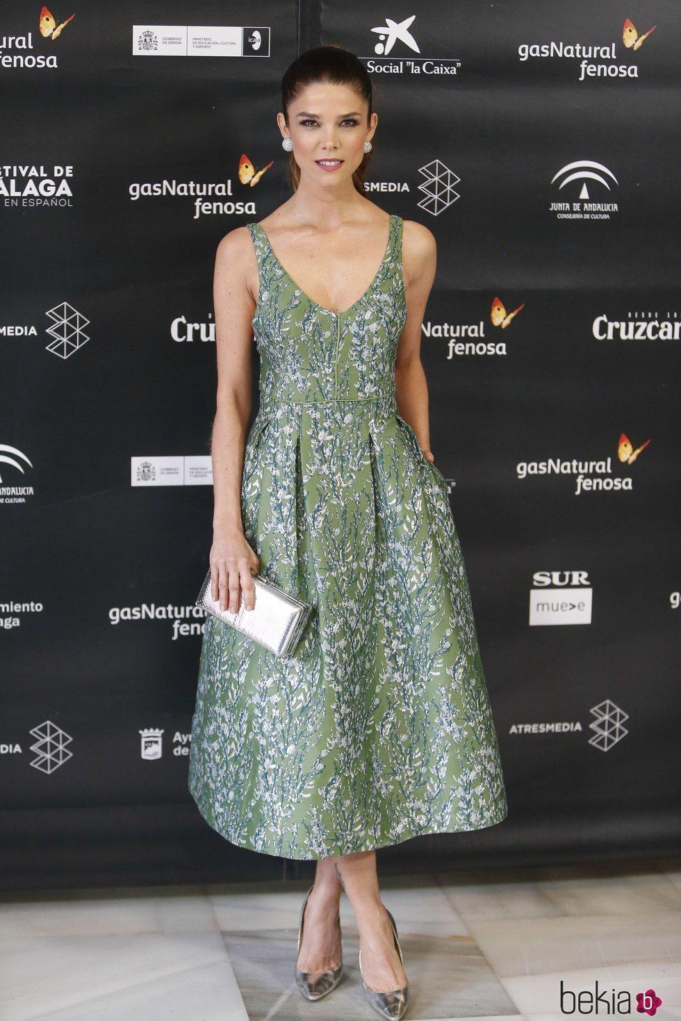 Juana Acosta en la ceremonia de inauguración del Festival de Cine de Málaga 2018