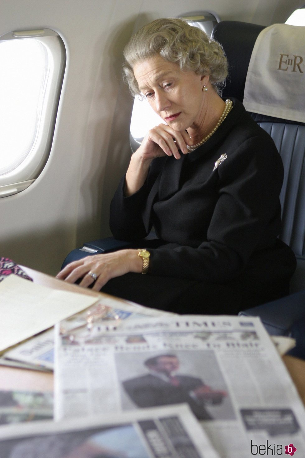 Helen Mirren en la película 'The Queen'