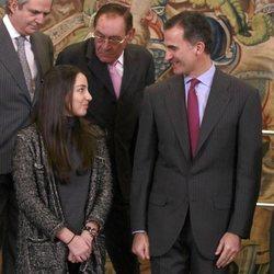 El Rey Felipe VI y Alejandra Romero, Duquesa de Suárez