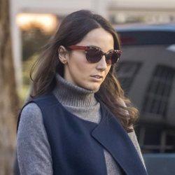 Alejandra Romero con look informal en Madrid