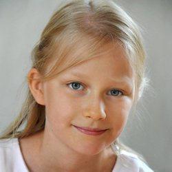 Leonor de Bélgica con 10 años