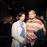 Alba Galocha y Brais Efe en la fiesta del cuarenta cumpelaños de Andrés Velencoso