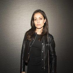 Hiba Abouk en la fiesta del cuarenta cumpelaños de Andrés Velencoso