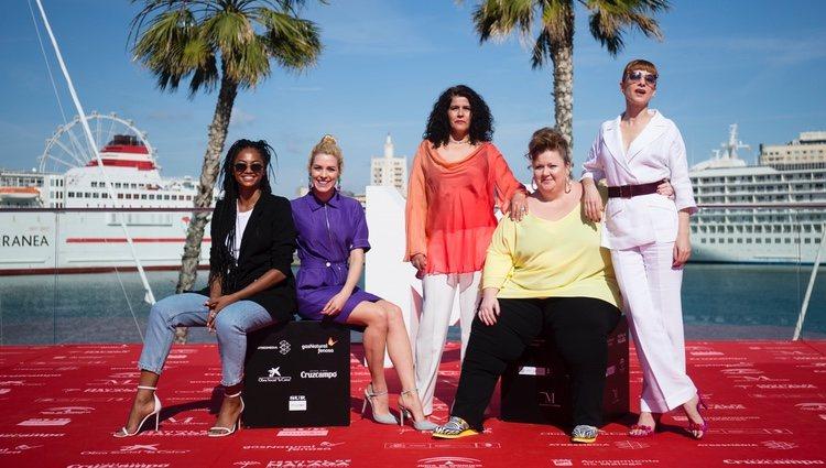 Las actrices de 'Vis a Vis' presentan la última temporada en el Festival de Málaga 2018
