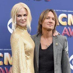 Nicole Kidman junto a Keith Urban en los CMA Awards 2018