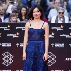 Anna Castillo en la alfombra roja del Festival de Málaga 2018