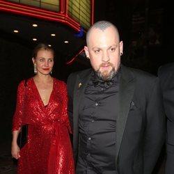 Cameron Diaz y Benji Madden en la fiesta preboda de Gwyneth Paltrow y su pormetido