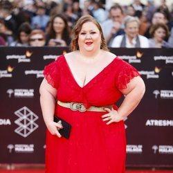 Itziar Castro en la alfombra roja del Festival de Málaga 2018