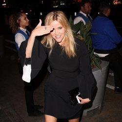 Reese Witherspoon en la fiesta preboda de Gwyneth Paltrow y su pormetido