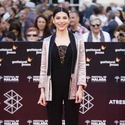 Irene Visedo en la alfombra roja del Festival de Málaga 2018