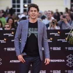 Eduardo Noriega en la alfombra roja del Festival de Málaga 2018