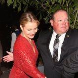 Cameron Diaz  en la fiesta preboda de Gwyneth Paltrow y su pormetido