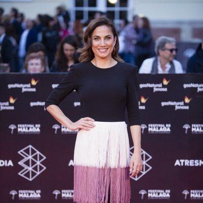 Toni Acosta en la alfombra roja del Festival de Málaga 2018