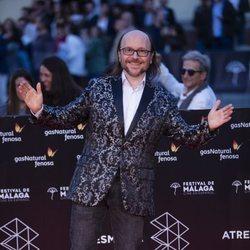 Santiago Segura en la alfombra roja del Festival de Málaga 2018