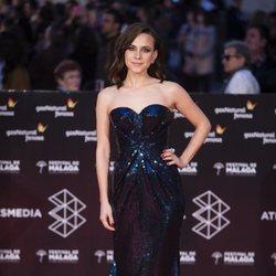 Aura Garrido en la alfombra roja del Festival de Málaga 2018
