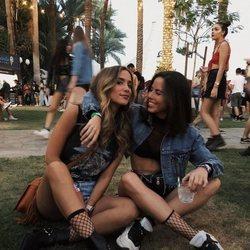 Las influencers María Pombo y Nica Urgel en el Coachella 2018