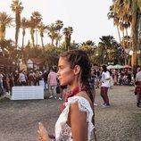 María Pombo en el festival Coachella 2018