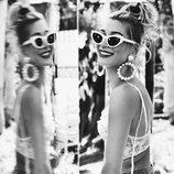 La modelo Hailey Baldwin en el Coachella 2018