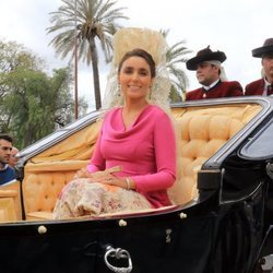 Paloma Segrelles en la Feria de Abril 2018