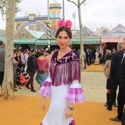 Lourdes Montes en la Feria de Abril 2018