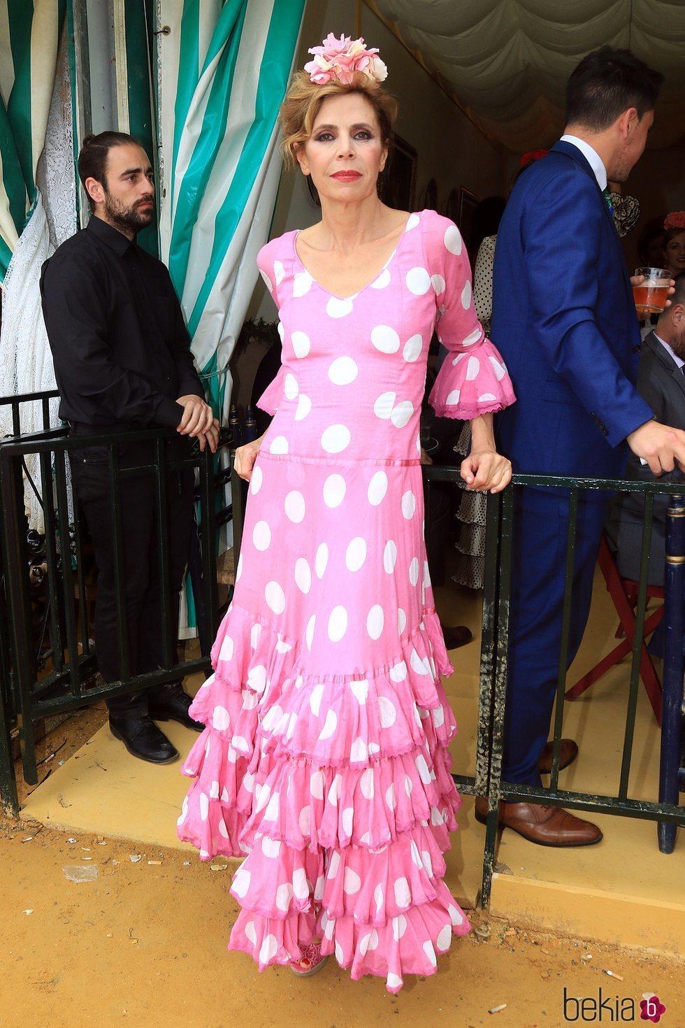 Ágatha Ruiz de la Prada en la Feria de Abril de Sevilla 2018