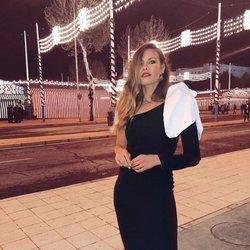 Jessica Bueno en la Feria de Abril 2018 de noche