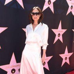 Victoria Beckham en la inauguración de la estrella del Paseo de la Fama de Hollywood de Eva Longoria