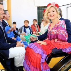 Eugenia Martínez de Irujo en la Feria de Abril 2018