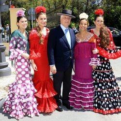 El Duque de Alba rodeado de mujeres flamencas