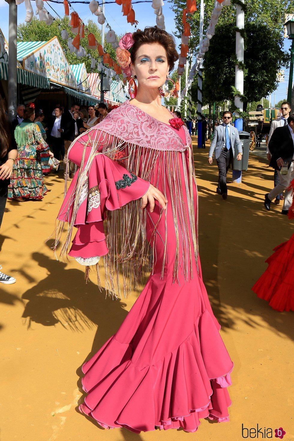 Antonia Dell'Atte en la Feria de Abril 2018