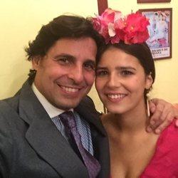 Francisco Rivera y su hija Cayetana Rivera en la Feria de Abril 2018