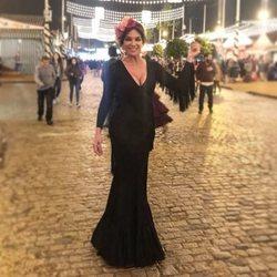 Raquel Bollo en la Feria de Abril 2018