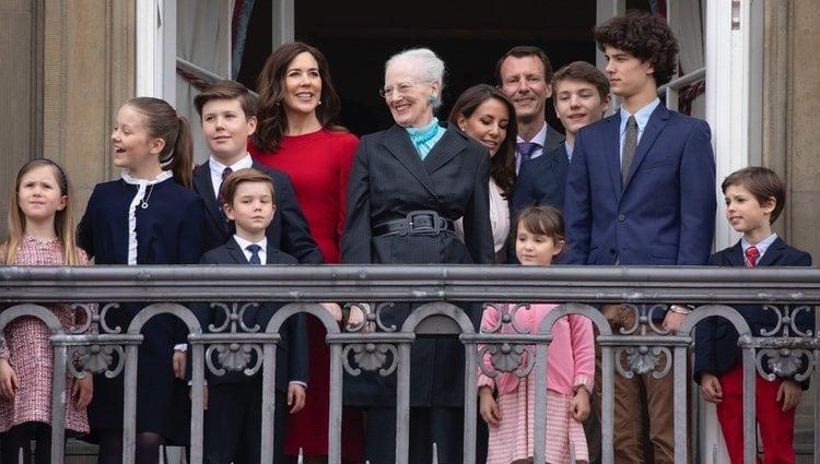 La Familia Real Danesa celebra el primer cumpleaños de la Reina Margarita tras la muerte de Enrique de Dinamarca