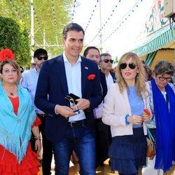 Pedro Sánchez en la Feria de Abril 2018