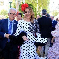 Susana Díaz en la Feria de Abril 2018