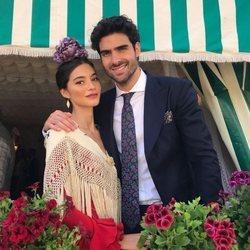 Juan Betancourt y Rocío Crusset en la Feria de Abril 2018