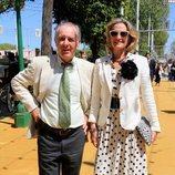 José Manuel Soto y Pilar Parejo en la Feria de Abril 2018