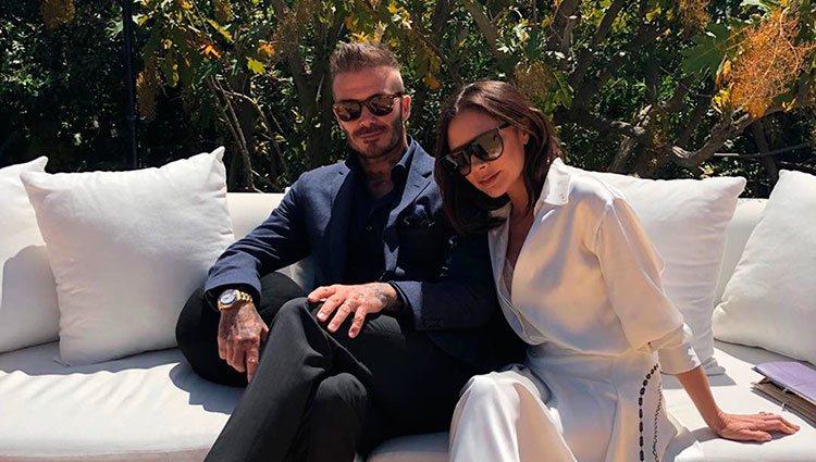 Victoria Beckham celebra su 44 cumpleaños junto a su marido