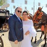 Marina Danko y Fabio Mantegazza en la Feria de Abril 2018